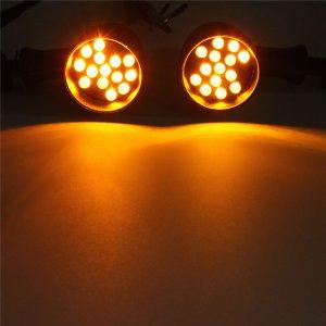 Bullet LED Turn Signal Light For Harley Sporster Softail Bobber