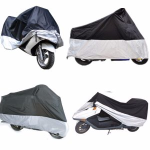 M/L/XL/XXL Motorcycle Waterproof Outdoor Rain Bike Cover