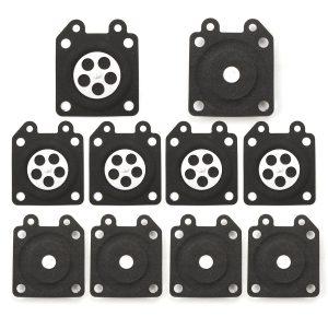 10pcs Carburetor Gaskets Metering Diaphragm Assembly For Walbro 95-526