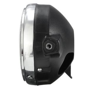 7inch Motorcycle Headlight Amber Light For Honda Yamaha Suzuki Kawasaki Universal