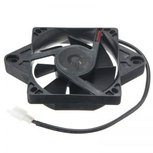 116x116mm Electric Engine Cooling Fan Radiator For Motorcycle ATV Go Kart Quad