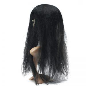 Latex Scary Long Hair Halloween Full Face Masks SADAKO Hallowmas Ghost