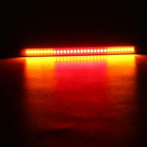 Universal Motorcycle Rear Tail Brake Stop Turn Signal 48 LED SMD Light Strip