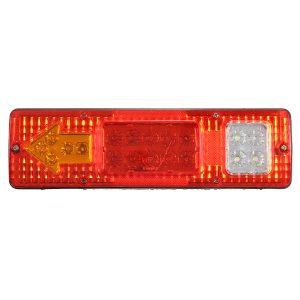 1.5W 24V LED Brake Tail Light Turning Signal Lamp for Trailer Truck Car Caravan Boat UTV