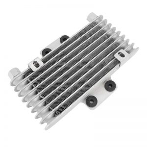 Motorcycle Modified Large Oil Cooler Radiator Fan Combination Kits