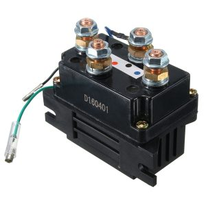 12V DC 400A Electric Winch Solenoid Relay Protector Caps For ATV UTV Truck Off Road