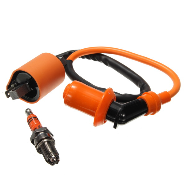 Ignition Coil 3-Electrode Spark Plug CG125 150 200 250/CB CBD For ATV Motorcycle Racing Performance