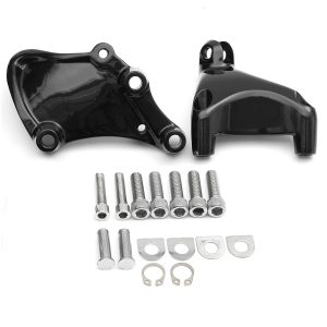 Rear Passenger Foot Pegs Pedal Mount For Harley Sportster XL 883 1200 14-16