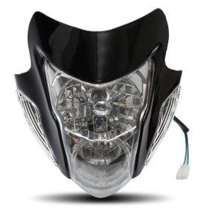 Motorcycle Amber Light Headlight Lamp For Street fighter Honda Yamaha Suzuki Kawasaki