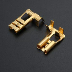 Tin Plate Brass Terminal Repair Kit Male Female Connector Wiring Loom Automotive Motor Bike