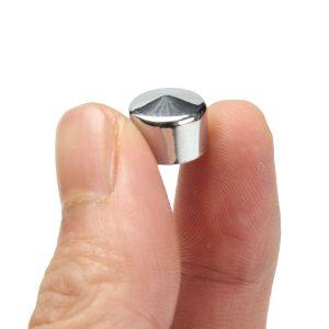 75Pcs Chrome Bolt Topper Caps Cover Nut Kit For Harley Davidson FLT-FLH