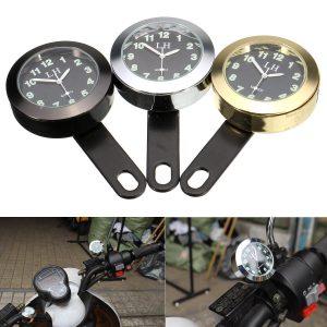 Waterproof Motorcycle Bike Dial Clock Bracket For Harley/Honda/Suzuki/Yamaha
