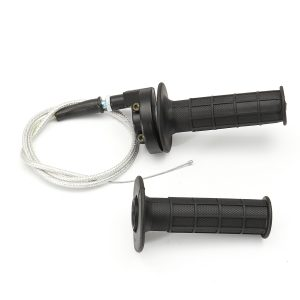 7/8inch 22mm Handlebar Hand Grip with Throttle Cable Motorcycle Bike Universal