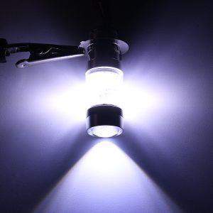 LED Motorcycle Fog DRL Dual Light Bulb 20 SMD High/Low Beam Lamp Bulbs P15D P15D-25-1 H6M