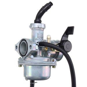 Motorcycle Carburetor + Air Filter For Honda CRF70F XR70R Carb (Mounting hole spacing 48mm)