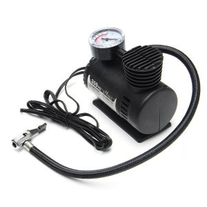 12V 300PSI Portable Mini Air Compressor Electric Tire Inflator Pump for Auto Car Motorcycle Bicycle