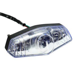 12V Universal LED Rear Tail Brake Stop Running Light Bulb Lamp Motorcycle ATV Bike