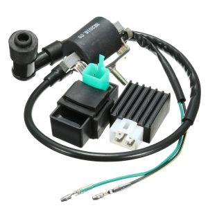 Ignition Coil CDI Rectifier Regulator For 110cc 125cc 140cc Pit Dirt Bike