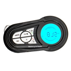 Waterproof Motorcycle Audio Radio Anti- theft System Stereo MP3 USB Speakers with bluetooth Function