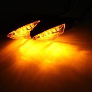 LED Motorcycle Bulb Turn Signal Lights Indicator Amber Blinker Light Lamp