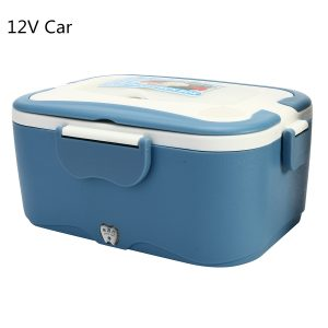 1.5L 12V/24V Car Electric Lunch Box Outdoor Traveling Meal Heater Truck Lunch Box