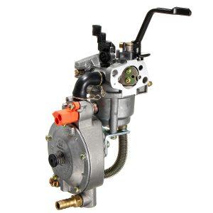 Dual Fuel Carburetor For GX160 168F Water Pump Generator Engine