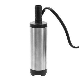 12V/24V Electric Diesel Pump Fuel Water Oil Portable Stainless Steel Diesel Pump