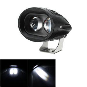 12V 24V LED Work Light 20W Spotlight 1680lm Headlight Waterproof IP67 Haedlamp White/Amber Light Universal for Lorry Truck Forklift Car Motorcylce