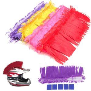 Helmet Mohawk Hair Punk Hair For Motorcycle Helmets Ski Snowboard Paintball Race