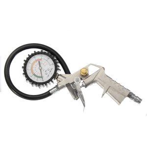 220PSI Tire Tyre Inflator Air Compressor Pressure Gauge