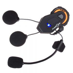 FreedConn T-Max Helmet Intercom 6 Riders Group Talking bluetooth Headset Motorcycle BT Interphone FM Radio