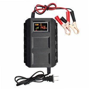 20A 12V Smart Fast Battery Charger LED Display For Car Motorcycle Truck