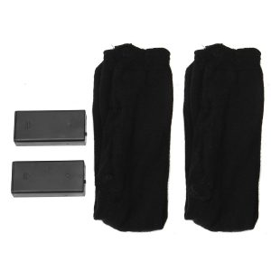 2pcs Electric Heated Hot Boot Socks Foot Heater For Motorcycle Riding Skiiing Size