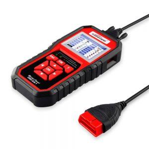 KONNWEI KW850 OBD2 Car Scan Diagnostic Tool EOBD Scanner Engine Fault Code Reader Multi-languages Red