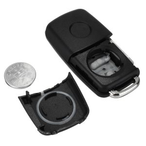 2 Button Remote Key FOB Case With Battery For VW Transporter T5 Polo GOLF Polo