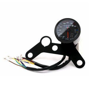 12V Motorcycle LED Odometer Speedometer Tachometer Speedo Gauge