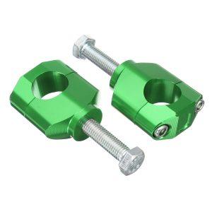 28mm 1 1/8inch CNC Handlebar Fat Mounts Clamps Raiser For Honda/Kawasaki/Suzuki