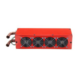 12V 24V Universal Car 4 Port Iron Compact Heater Defroster Heat Fan Speed Switch