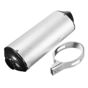 28mm Muffler Exhaust Pipe+Clamp For Dirt Pit Pro Quad Bike ATV 50/110/125/150cc