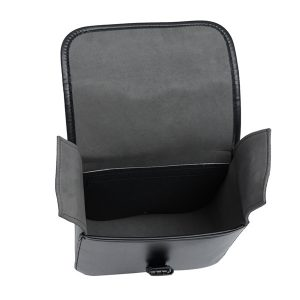 A Pair Motorcycle Saddle Bag Bike Side Storage Fork Tool Pouch For Harley