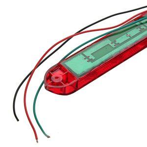 10-30V 9LED Waterproof Trailer Truck Brake Light Bar Tail Turn Stop Light for Utes Caravans Buses