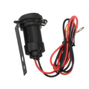 12V 1A USB Socket Charger with Waterproof Cap For BMW Motorcycle
