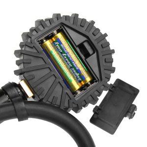 200psi Tire Pressure Gauge Digital Tire Inflator LCD Display