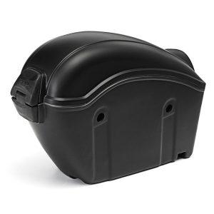 26L Hard Trunk Matte Black Universal Hard Saddlebags For Honda/Suzuki/Kawasaki