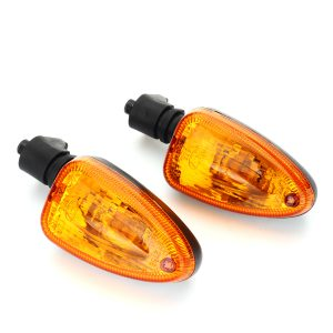 Pair Turn Lights Signal Blinker Front Rear Indicator For BMW F800 F650 GS S1000R