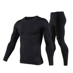 HEROBIKER Motorcycle Skiing Warm Tight Fitting Suit Pants Blouse Riding Motocross Clothing