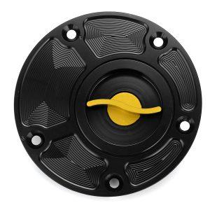 Motorcycle CNC Aluminum Fuel Tank Cap Gas Oil Tank Cover For Yamaha FZ1/FZ6/FZR750/1000/R1/R6/YSR50