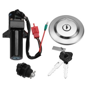 Ignition Switch + Fuel Cap + Key For Yamaha YBR125 Fuel Injected Model