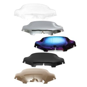 6inch Wave Windshield Windscreen For Harley Electra Street Glide Touring 96-13