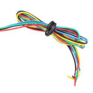 30cm 12V 108 LED Flowing Turn Signal Light Strip Motorcycle Switchback Tail Brake Lights